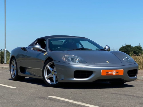 Ferrari 360  3.6 F1 SPIDER 2d 400 BHP * FINANCE AVAILABLE * PX