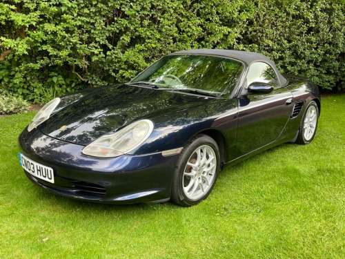 Porsche Boxster  2.7 SPYDER 2d 228 BHP ELECTRIC PACK, FILE FULL OF