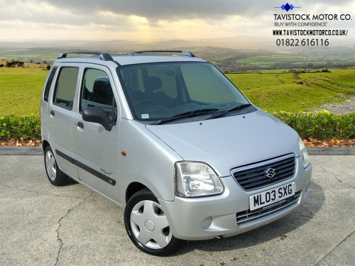 Suzuki Wagon R  1.3 GL 5d 76 BHP GREAT VALUE+LOW MILES FOR AGE