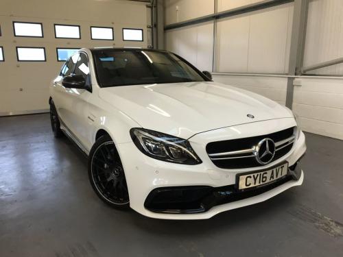 Mercedes-Benz AMG  4.0 (476ps) C63 AMG (Premium)(s/s) Saloon 4d 3982cc Auto