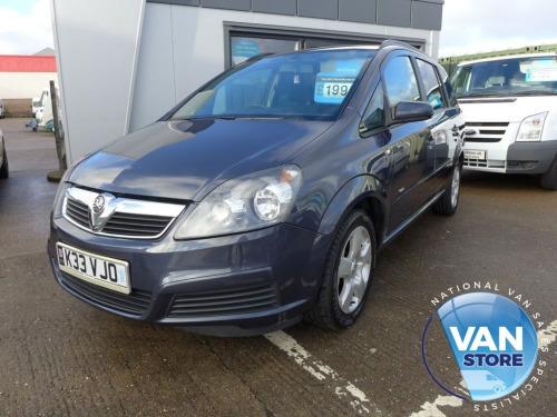 Vauxhall Zafira  1.6i 16v Club MPV 5d 1598cc