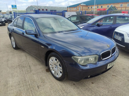BMW 7 Series  4.4 745I 4d 329 BHP 7 STAMPS OF SERVICE HISTORY Fo