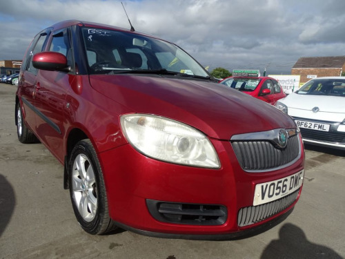 Skoda Roomster  1.6 2 16V 5d 103 BHP GREAT SPACE