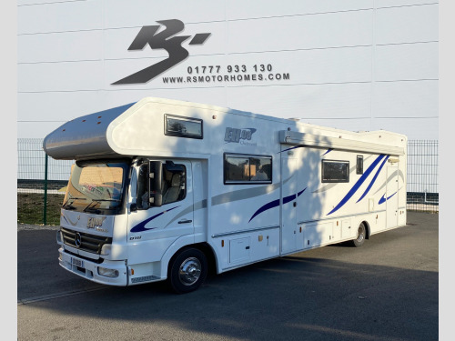 Mercedes-Benz ATEGO NOT RS OR RC MOTORHOME
