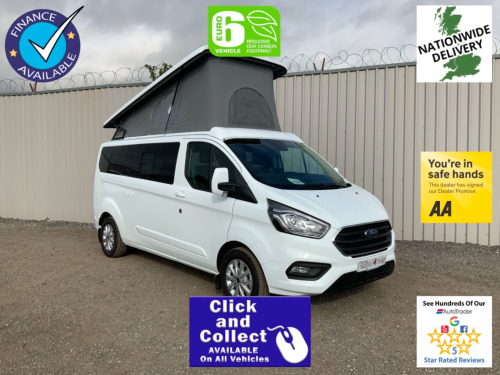 Ford Transit Custom  300 LIMITED L2 LONG WHEEL BASE ** LIMITED STYLE CAMPER ** EURO 6 ** IN STOC