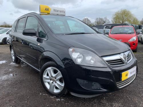 Vauxhall Zafira  1.6i [115] Exclusiv 5dr