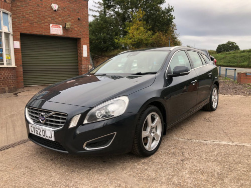 Volvo V60  V60 SE LUX D5 ESTATE, FULL SERVICE HISTORY, VOLVO AND ONE OWNER FROM NEW