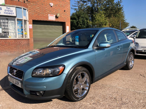 Volvo C30  2.0 SE Lux 3dr RARE SPEC LEATHER, PETROL, LOW MILES