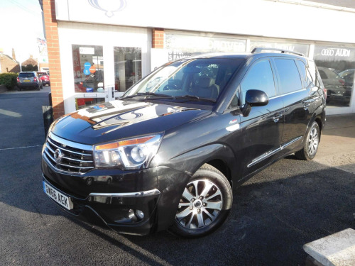 Ssangyong Turismo  2.2D ELX T-Tronic 4WD Selectable 5dr