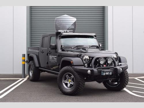 Jeep Wrangler  3.6 Black Mountain Rubicon Double cab pick up
