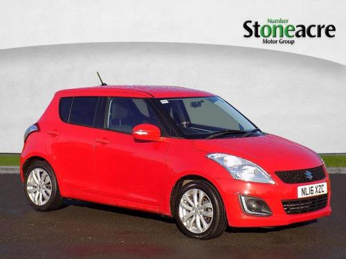 Suzuki Swift  1.2 SZ4 Hatchback 5dr Petrol Manual (+Nav) (116 g/km, 93 bhp)