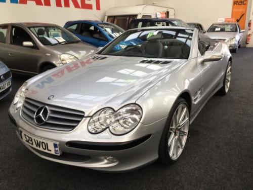 Mercedes-Benz SLS  5.0 SL500 Convertible 2d 4966cc auto