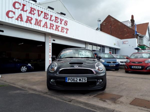 MINI Mini Coupe  1.6 Cooper S 3-Door From £7,950 + Retail Package
