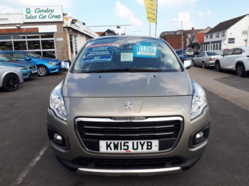 Peugeot 3008 Crossover  2.0HDi (163bhp) Allure Hatchback 5d 1997cc Auto
