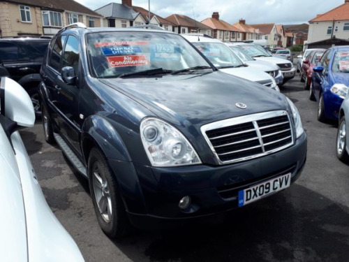 Ssangyong Rexton  2.7TD (183bhp) 4X4 SPR Station Wagon 5d 2696cc Auto