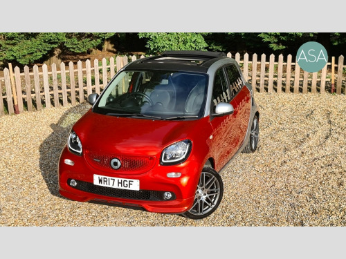 Smart forfour  NIGHT SKY BRABUS XCXLUSIVE