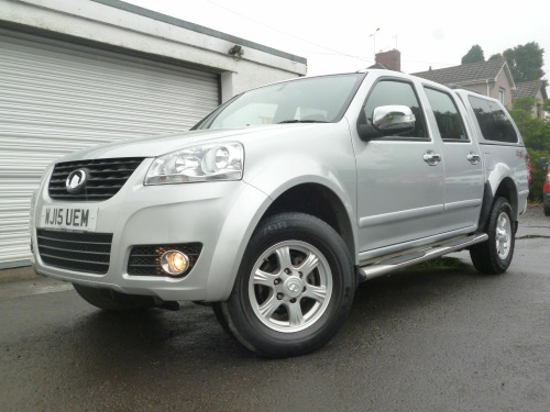 Great Wall Steed  2.0 TD SE 4WD 140 BHP DCB PICK-UP 39,000 MILES ** NO VAT **