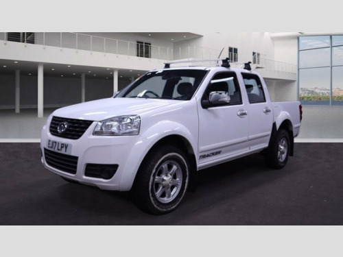 Great Wall Steed  2.0 TD 137 BHP 4WD TRACKER EDITION DCB PICK-UP ** NO VAT **