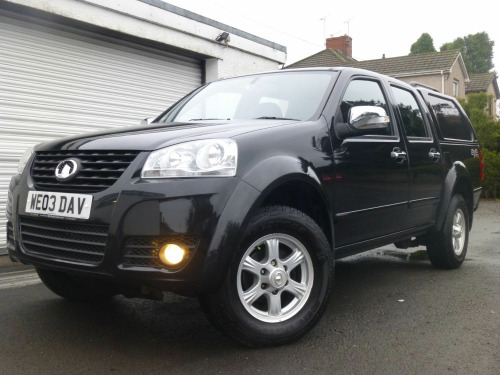 Great Wall Steed  2.0 TD S EDITION 140 BHP 4WD DCB PICK-UP ** NO VAT **