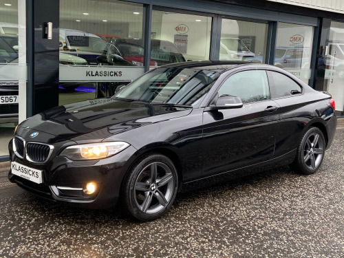 BMW 2 Series 218 218D SPORT COUPE