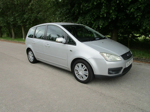 Ford C-MAX  2.0 TDCI GHIA 5DR MET SILVER