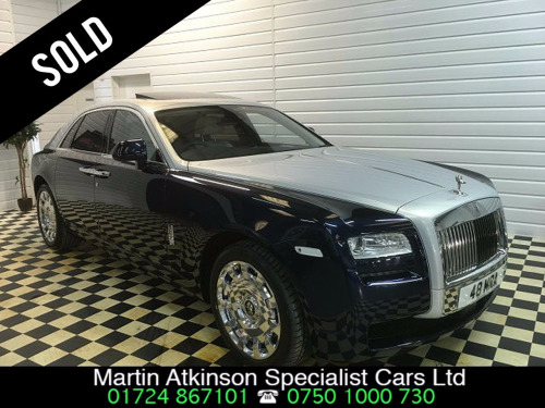 Rolls-Royce Ghost  4dr Auto ~ SOLD ~