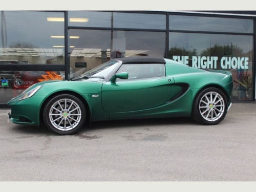 Lotus Elise  1.6 (134bhp) Club Racer Convertible 2d 1598cc