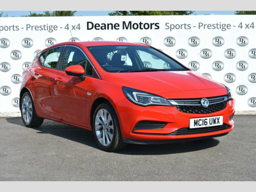 Vauxhall Astra  1.6 ENERGY CDTI 5d 108 BHP JUST ARRIVED SUPERB FAM