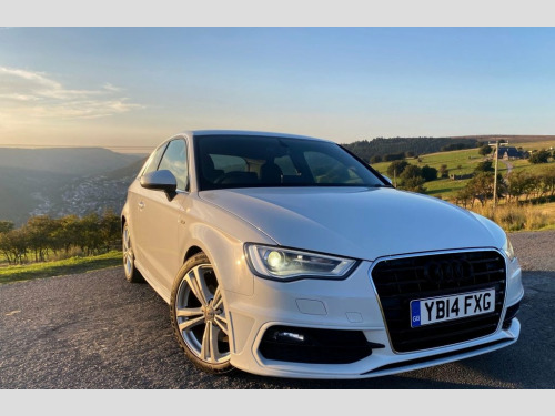 Audi A3  2.0 TDI S LINE 3d 182 BHP Finance from as low as 5