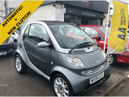 Smart City-Coupe  0.7 PASSION SOFTOUCH 2d 61 BHP SERVICE HISTORY + L