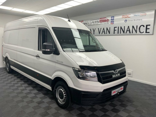M.A.N. TGE  2.0 3.140 L3 H2 140BHP SAME AS CRAFTER PX WELCOME