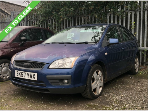 Ford Focus  1.8 STYLE TDCI 5d 115 BHP PART EX TO CLEAR