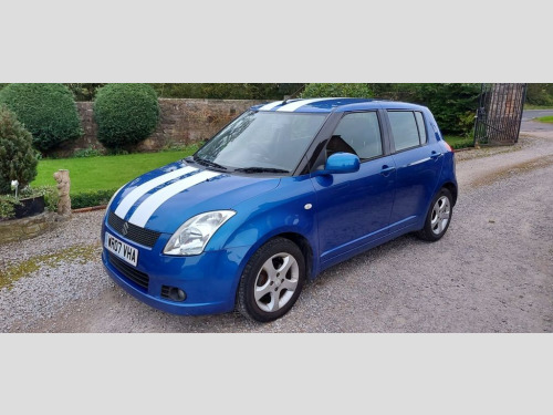 Suzuki Swift  1.5 GLX VVTS 5d 101 BHP