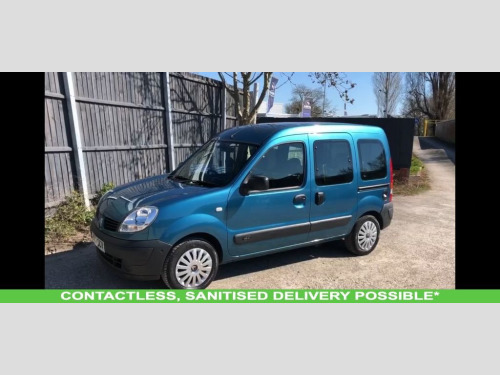 Renault Kangoo  1.2 AUTHENTIQUE 16V 5d WAV RAMP ACCESSIBLE VEHICLE