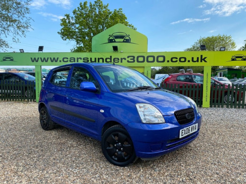 Kia Picanto  1.0 GS 5d 60 BHP 3 MONTH WARRANTY 3 OWNERS 1.0 PET