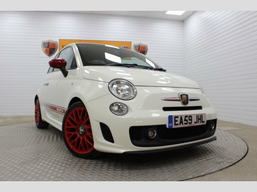 Abarth 500  1.4 ABARTH 3d 135 BHP ***RED LEATHER***