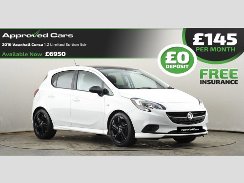 Vauxhall Corsa  1.4 LIMITED EDITION ECOFLEX 5d 89 BHP