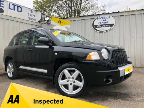 Jeep Compass  2.4 LIMITED 5d 168 BHP AA INSPECTED. FINANCE. WARR