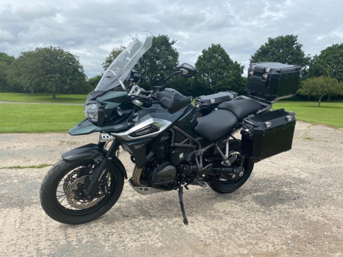 Triumph EXPLORER  TIGER 1200 XCA, 1 owner with only 4200 miles, excellent condition, fully lo