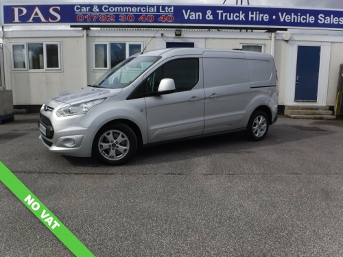 Ford Transit Connect  1.5 240 LIMITED P/V 118 BHP 6 MONTHS FULL WARRANTY