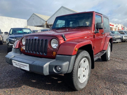 Jeep Wrangler  2.8 CRD Sahara Soft top 4x4 2dr p/x welcome