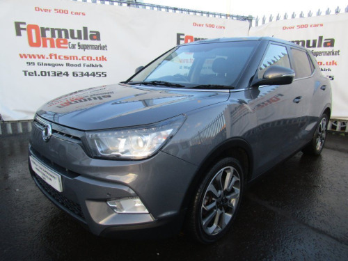 Ssangyong Tivoli  1.6 TD ELX 2WD 5dr p/x welcome
