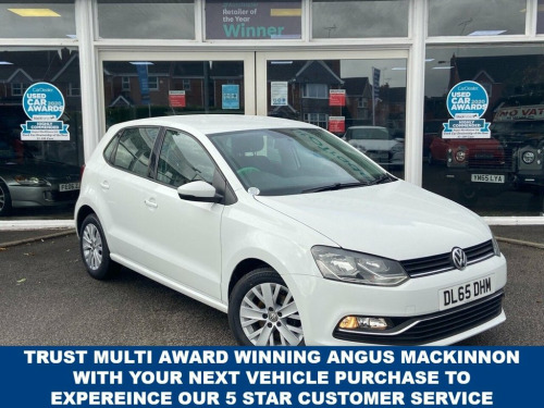 Volkswagen Polo  1.0 SE 5d 5 Seat Family Hatchback Stunning in Whit