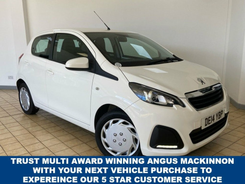 Peugeot 108  1.0 ACTIVE 5d 68 BHP Ideal First Car with Fantasti