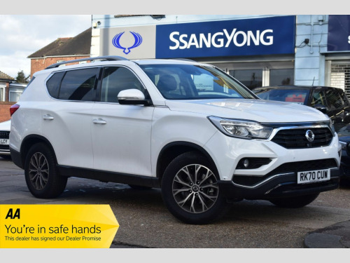 Ssangyong Rexton  2.2 ICE 5d 179 BHP LTD EDITION PEARL WHITE  AUTOMATIC 7 SEATS PRE REG