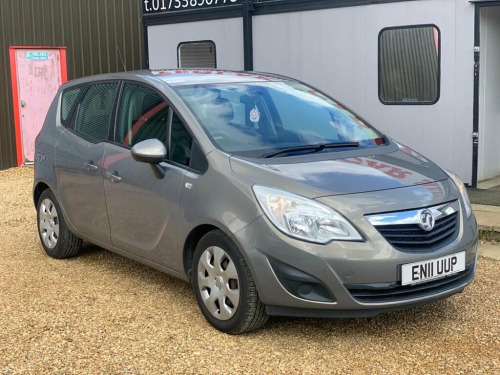Vauxhall Meriva  1.4L EXCLUSIV 5d 98 BHP PART EXCHNGE TO CLEAR LONG