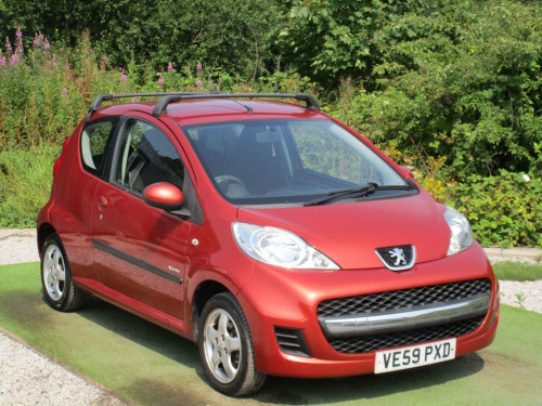 Peugeot 107  1.0 VERVE 3d 68 BHP AIR CON AUX IN 12V CHARGER