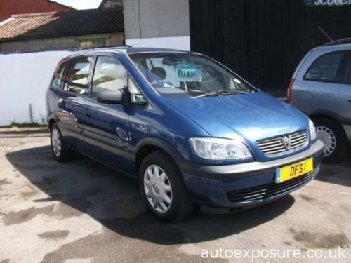 Vauxhall Zafira  16V CLUB MPV