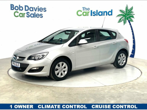 Vauxhall Astra  1.4 DESIGN 5d 100 BHP One Owner Car only 43000 mil