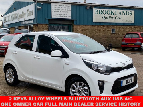 Kia Picanto  1.0 2 5 Door Clear White 7155 Miles From New One O